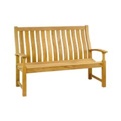 Alexander Rose Santa Cruz High Back Bench 5ft