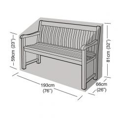 Garland 3/4 Seater Bench Cover