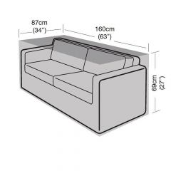 Garland 2 Seat Small Sofa Cover
