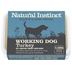 Working Dog Turkey Twin 500g Pack