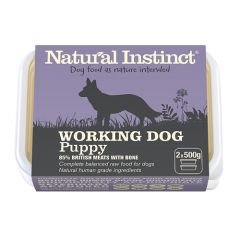 Working Dog Puppy Twin 500g Pack