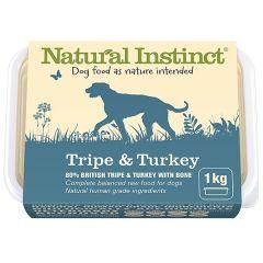 Natural Tripe & Turkey 1kg