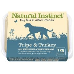 Natural Instinct Tripe & Turkey Twin 500g Pack