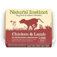 Natural Chicken & Lamb Twin 500g Pack