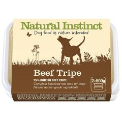 Natural Beef Tripe Twin 500g Pack