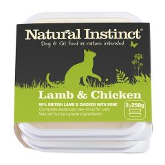Natural Instinct Chicken & Beef Twin 500g Pack