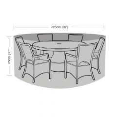 Garland 6 Seater Round Furniture Set