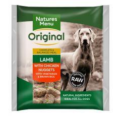 Natures Menu Lamb,Veg & Rice Nuggets 1kg