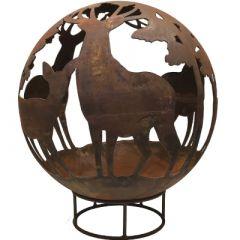 Robert Charles Fireball Stag & Deer 70cm
