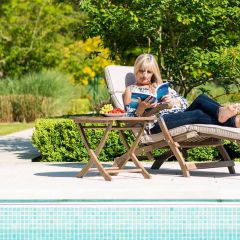 Alexander Rose Sherwood Occasional Table