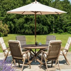 Alexander Rose Sherwood Folding Table 1.4m