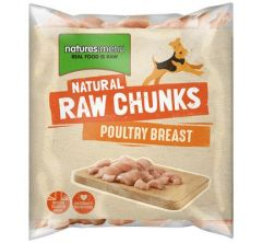 Natures Menu Poultry Breast Chunks 1kg