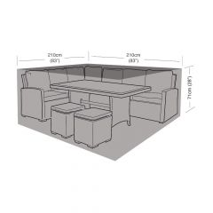 Compact Square Casual Dining Cover