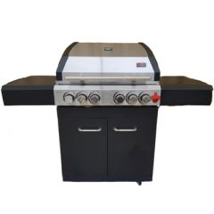 Draco Grills Ascona 4 Burner Gas Barbecue Package