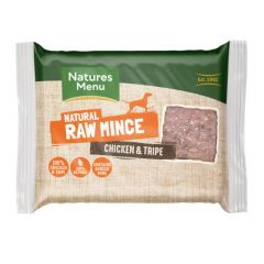 Natures Menu Free Flow Mince Chicken & Tripe 2kg