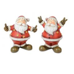 Cool Standing Santa Figurine