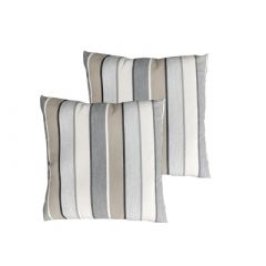 Westminster Quilted Scatter Cushion Pair Striped