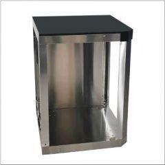 Draco Grills 90 Degree Corner unit Outdoor Kitchen Module