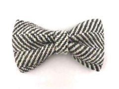 Hugo & Hudson Checked Herringbone Bowtie M/L
