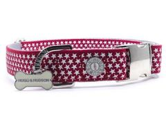 Hugo & Hudson Red Star Collar L