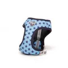 Hugo & Hudson Sky Blue Star Harness S