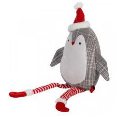 Crinkle Squeak Puppa Penguin Toy