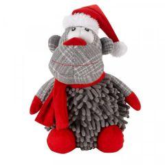 Noodly Santa Monkey Toy