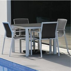 Westminster Madison Square Four Seat Set Charcoal/Dusk