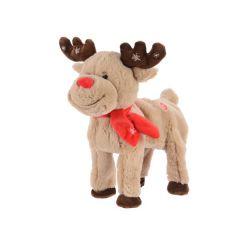 28cm Walking Reindeer with Music