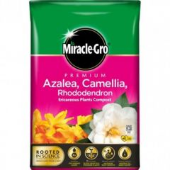 Miracle Gro Azalea, Camellia & Rhododendron Ericaceous Compost 40L