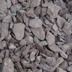 Meadow View Plum Slate Chippings 20mm