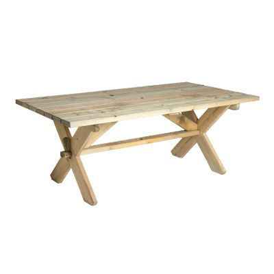 Alexander Rose Pine Farmers Table 1.9m x 1m