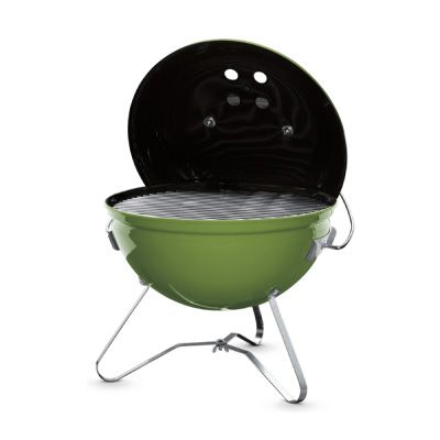 Weber Spring Green Smokey Joe Premium Charcoal Barbecue 37cm