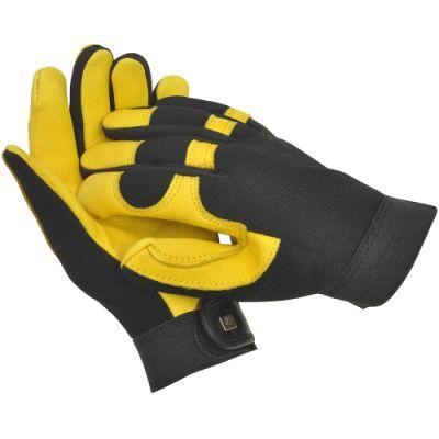 Gold Leaf Soft Touch Gardening Gloves   Size Ladies