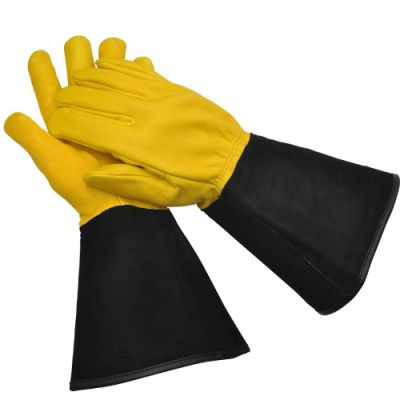 Gold Leaf Gardening Gloves Tough Touch    Size Gents