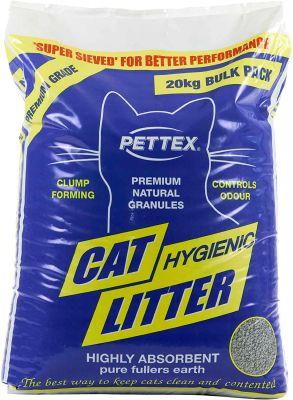 Pettex Premium Clumping Clay Cat Litter 20kg