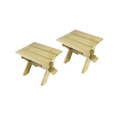 Alexander Rose Pine Farmers Stool 2 pack
