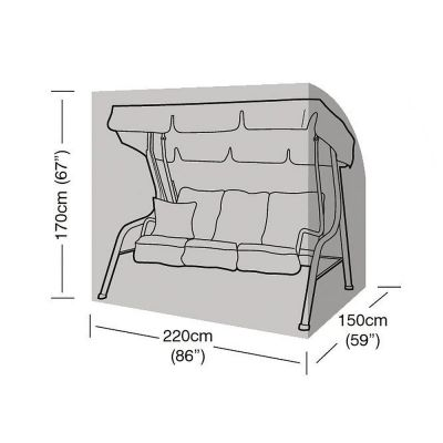 Garland 3 Seat Swing Seat Cover
