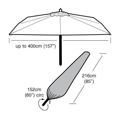 Garland Ex Large Parasol Cover
