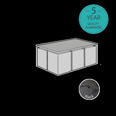ENJOi 6 Seat Rectangular Cube Set Cover