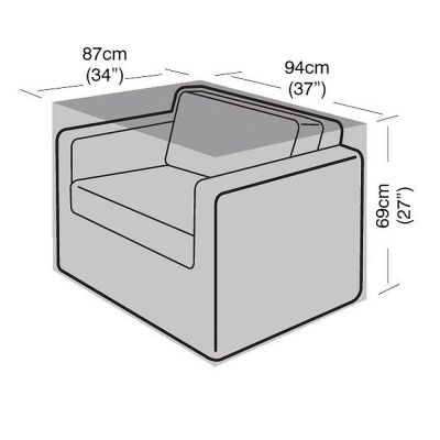 Garland Small Armchair Cover