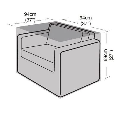 Large Armchair Cover