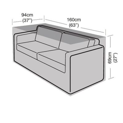 Garland 2 Seat Large Sofa Cover