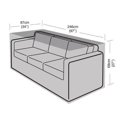 Garland 3 Seat Small Sofa Cover