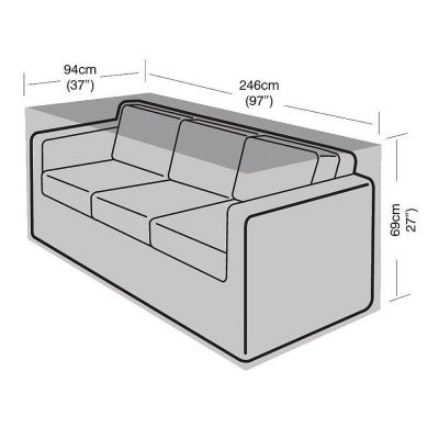 Garland 3 Seat Large Sofa Cover