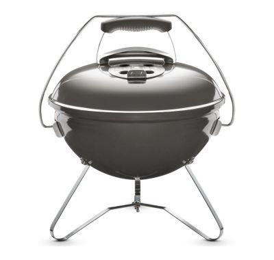 Weber Smoke Grey Smokey Joe Premium Charcoal Barbecue 37cm