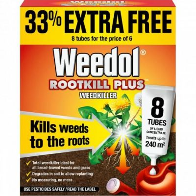 Weedol Rootkill Plus (Liquid Concentrate Tubes)