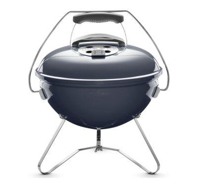 Weber Slate Blue Smokey Joe Premium Charcoal Barbecue 37cm