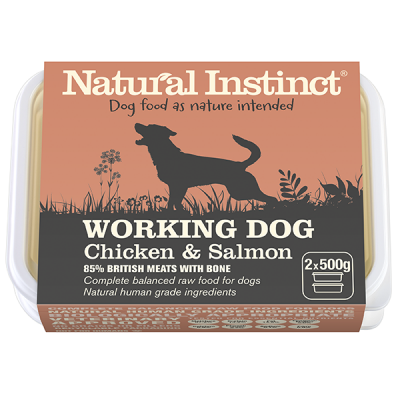 Working Dog Salmon Twin 500g Pack