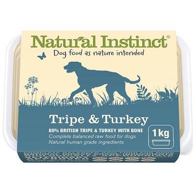 Natural Instinct Tripe & Turkey Twin 500g Pack